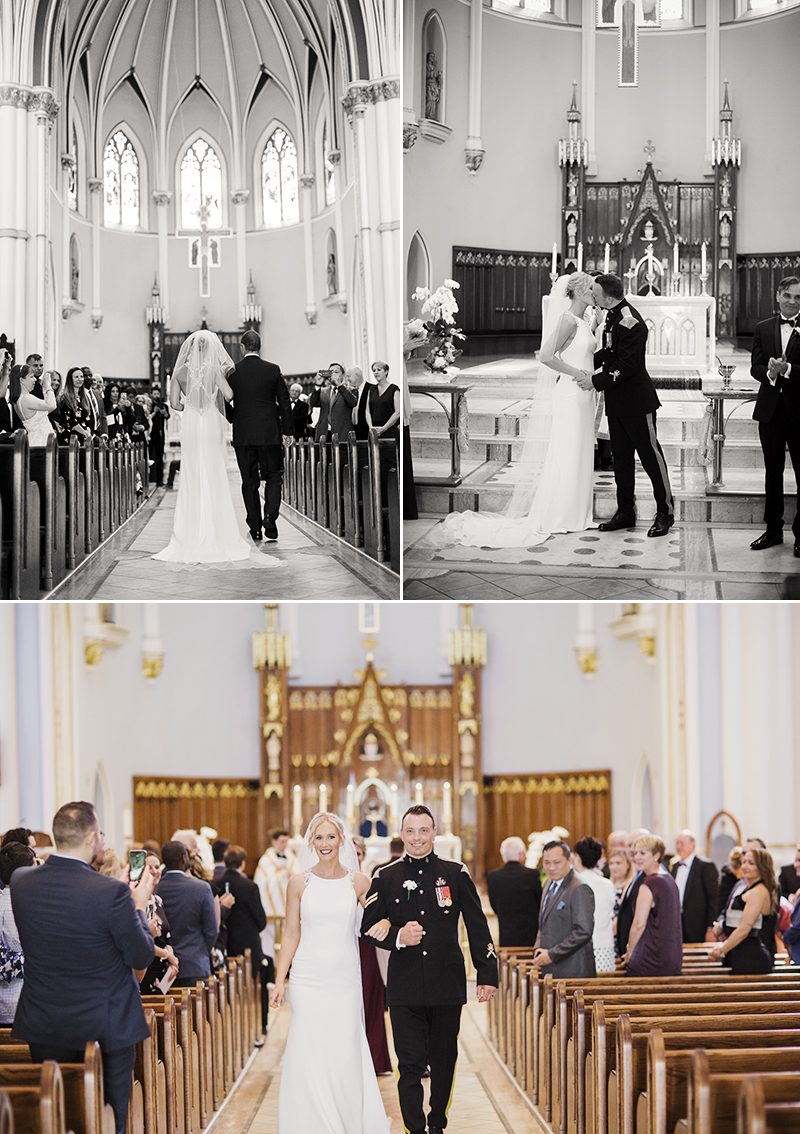 elegant wedding, vancouver wedding, vancouver club, vancity wedding, classic wedding, maru photography, coal harbour, holy rosary cathedral