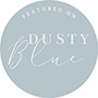 featured on dusty blue blog