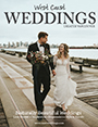 featured in west coast weddings magazine